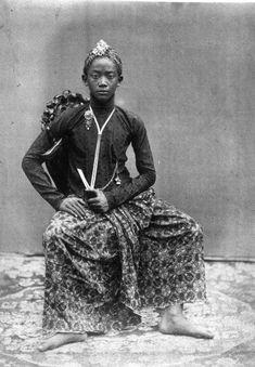 COLLECTIE TROPENMUSEUM Raden Mas Kotar van het hof van Sultan Hamengkoe Boewono VI van Djogdjakarta