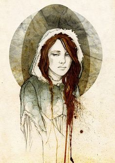 Alayne Stone (Sansa Stark), by Elia Mervi