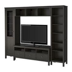 TV storage combination, HEMNES