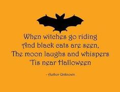 Because for me Halloween starts October 1st. Its almost time witches! :D