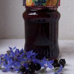 Schwarze Johannisbeer-Konfitüre (Marmelade) mit Schuss und 87.000 weitere Rezepte entdecken auf DasKochrezept.de