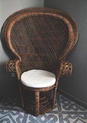 Een blijvertje: de Peacock chair - Residence