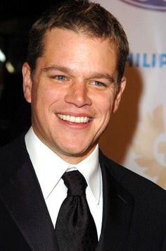 Matt Damon-The Departed, We Bought a Zoo, Good Will Hunting, The Bourne Trilogy, The Informant....love Matt so much.