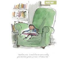Roald Dahl & Quentin Blake - Matilda Read a Really Good One
