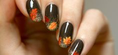 Close-upFallNailArt | How to Create Impressive Nail Art That's the Perfect Accessory to Your Fall Wardrobe