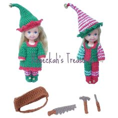 Kelly & Tommy Elves by Rebeckah's Treasures