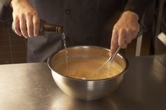 We make our beer batter  from scratch everyday for our chicken tenders and onion rings