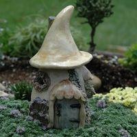 Mushroom Fairy Cottage- medium