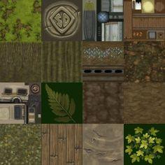 Swamp Textures