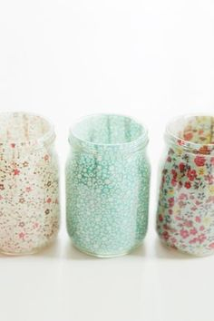 How to decopatch jam jars | Mollie Makes