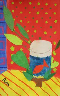 DREAM DRAW CREATE: Matisse fishbowl paintings