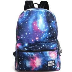 Galaxy Collection Printing Canvas Backpack