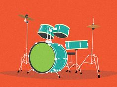 Monster Drums by The Fox And King
