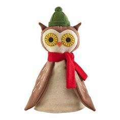 OH. MA. GAWD! Perfect topper for my owl christmas tree. My head is going to explode.