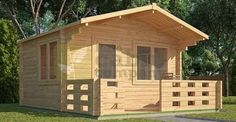A tiny log cabin is sometimes all you need, check out this awesome Tiny Log Cabin Kit from $2,357 Vi ...