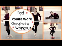 Feet & Pointe Strengthening Workout | Kathryn Morgan - YouTube