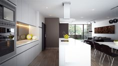 Cocina Edificio Pregoneros Kitchen Island, Home Decor, Buildings, Cooking, Island Kitchen, Decoration Home, Room Decor, Home Interior Design, Home Decoration