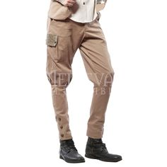 Mens Steampunk Jodhpur Pants - LS-114 by Medieval Collectibles