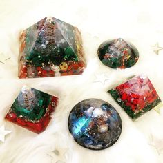 Christmas Orgonite !  Holiday mood on❤️