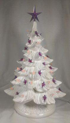 White Ceramic Christmas Tree.33 Best Ceramic Christmas Trees Images Ceramic Christmas