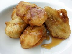 """Fried Banana - """"MY VERSION  A QUICK CRUNCHY SNACK AS IT IS OR WITH HONEY  LOVING IT"""" @allthecooks #recipe"""