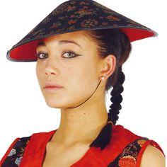 Sombrero de Chino #sombrerosdisfraz #accesoriosdisfraz #accesoriosphotocall