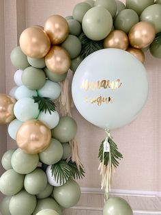 Cute Baby Shower Ideas, Baby Shower Themes, Baby Shower Decorations, Baby Boy Shower, Birthday Balloon Decorations, Birthday Balloons, Gender Reveal Decorations, Balloons And More, Baby Boy First Birthday