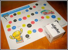 Game to learn nouns, verbs, adjectives - FREE