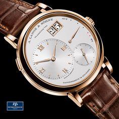 El LANGE 1 de A. Lange & Söhne Imagen representativa de la marca desde 1994, el inimitable diseño se ha conservado. #TiempoPeyrelongue #relojes #model