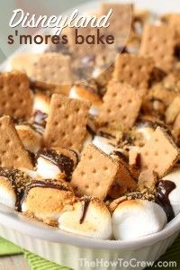 This Disneyland S'mores Bake tastes just like the original! So delicious!