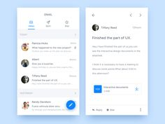 Day 016 - Email app by Judicy - Dribbble