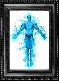 Digital download Dr Manhattan  Download is 8 x 10 but is available in any size that you prefer at no additional cost.  8 x 10 image is