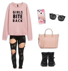 """""""Informal Style"""" by antoberneche on Polyvore featuring UGG, Casetify and Prada"""