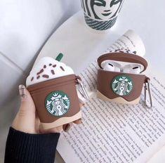 Starbucks Cappuccino AirPod Case Airpods And Generation & AirPod Pro Ca… - Phone Accessories Diy Phone Case, Cute Phone Cases, Iphone Phone Cases, Iphone 5s, Airpod Pro, Airpod Case, Coque Starbucks, Airpods Apple, Cute Headphones