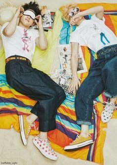 StyleKorea: The Art of Korean Fashion • GOT7's Mark & Junior for Ceci Korea June 2016....