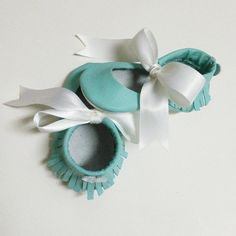 Tiffany and Co inspired Bella Moccasins by MMfeet on Etsy