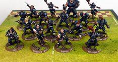 Dave Taylor Miniatures. Games Workshop, Blood Bowl, Human Team: Black Gulf Buccaneers
