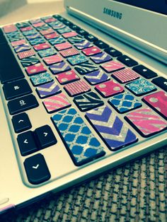 Washi tape over your keyboard.