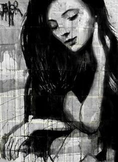 "Saatchi Art Artist Loui Jover; Drawing, ""sometimes..."" #art"