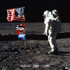 Our artists: Arthur Novarino - Super Mario - www.customly.com