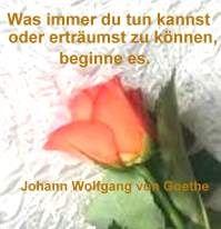 Text: Johann Wolfgang von Goethe  Motivation