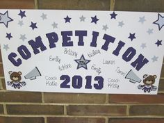 Cheer Competition Poster Ideas