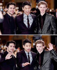 Maze Runner: The Death Cure red carpet event