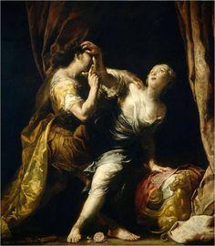Tarquin et Lucrèce - Giuseppe Maria Crespi Happy Birthday Artist, Muse Kunst, Wall Art Prints, Canvas Prints, Baroque Art, Italian Baroque, Religious Paintings, Muse Art, Art Database