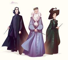"""ArtStation - Harry Potter characters study - 02, Valerio """"Dreelrayk"""" Buonfantino"""
