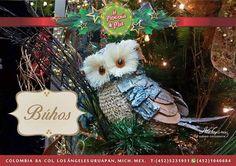 Hermoso búhos para decorar tu hogar en Navidad!!#lamerceriademia #silkplants #floresartificiales #navidad #navidad2016 #home #búho #instaphoto #nochebuena #instalove #  #invierno #inspiration #inspiración #christmas #uruapan #michoacan #mexico #homesweethome #morelia  #decoración #casa #photoofday #xmas #merrychristmas #interiordesign #christmasideas #decoracionnavideña #christmasdecorating