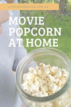 It is hard to beat classic 'movie' popcorn coated with butter and salt. Especially when it takes less than five minutes and can be done with minimal waste! Movie Popcorn, Yummy Treats, Salt, Minimal, Chips, Butter, Canning, Classic, How To Make
