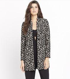 Animal Jacquard Coat