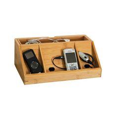 Electronics Charging Dock    De-clutter your desk
