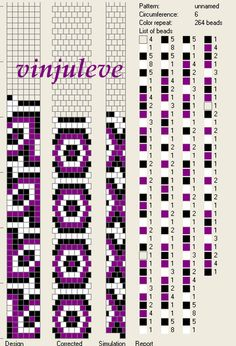 6 around tubular bead crochet rope pattern Bead Crochet Patterns, Bead Crochet Rope, Beaded Jewelry Patterns, Peyote Patterns, Beading Patterns, Beaded Crochet, Bracelet Patterns, Crochet Beaded Bracelets, Seed Bead Bracelets